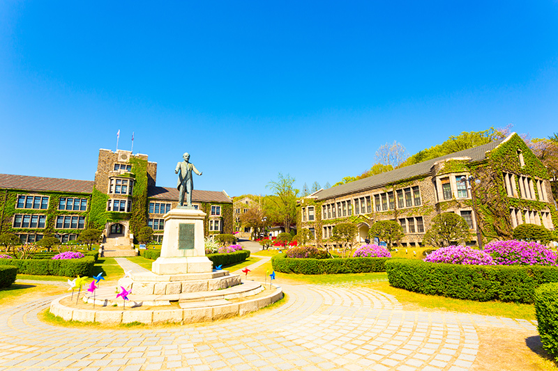 Yonsei Univercity in Sinchon
