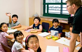 English school South Korea